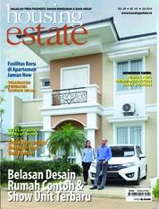 Cover Majalah housing estate Juli 2018