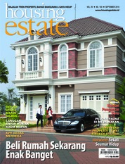 Cover Majalah housing estate September 2018