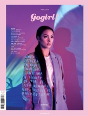 Gogirl! Magazine Cover April 2018