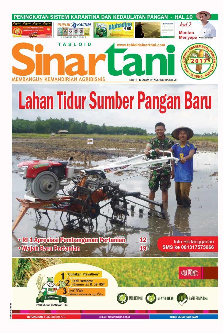 Majalah Digital Sinar tani ED 3686 Januari 2017