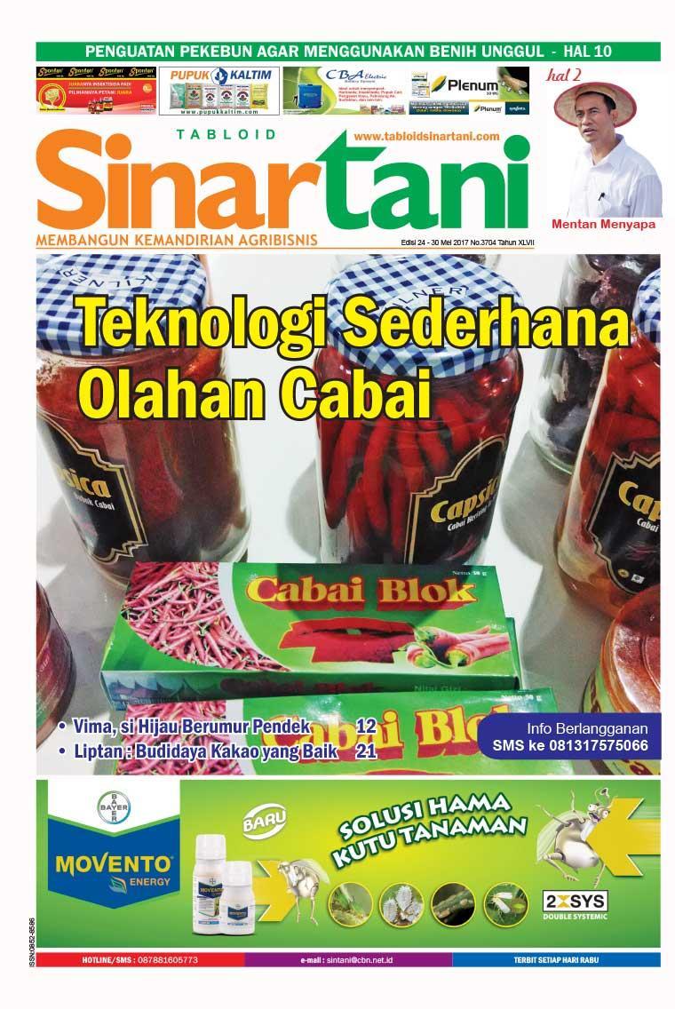 Majalah Digital Sinar tani ED 3704 Mei 2017