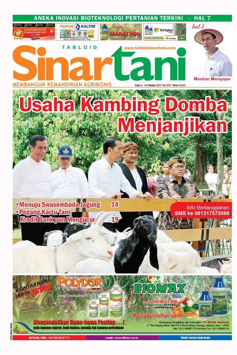 Majalah Digital Sinar tani ED 3721 Oktober 2017