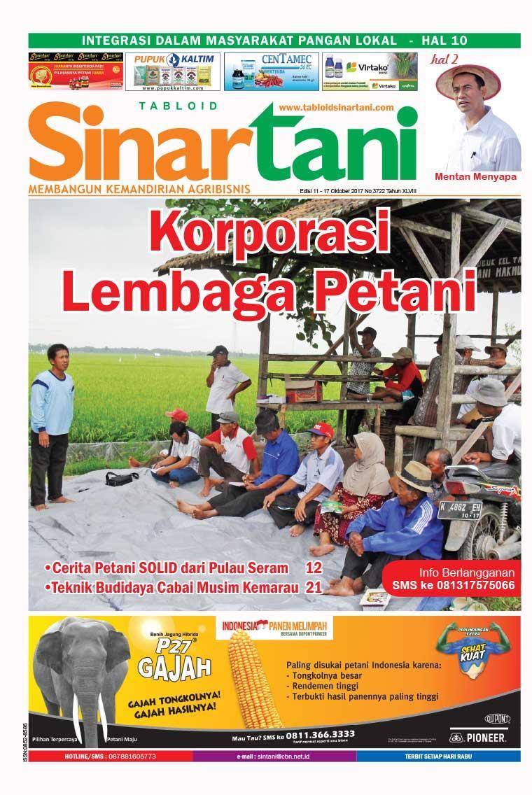 Majalah Digital Sinar tani ED 3722 Oktober 2017