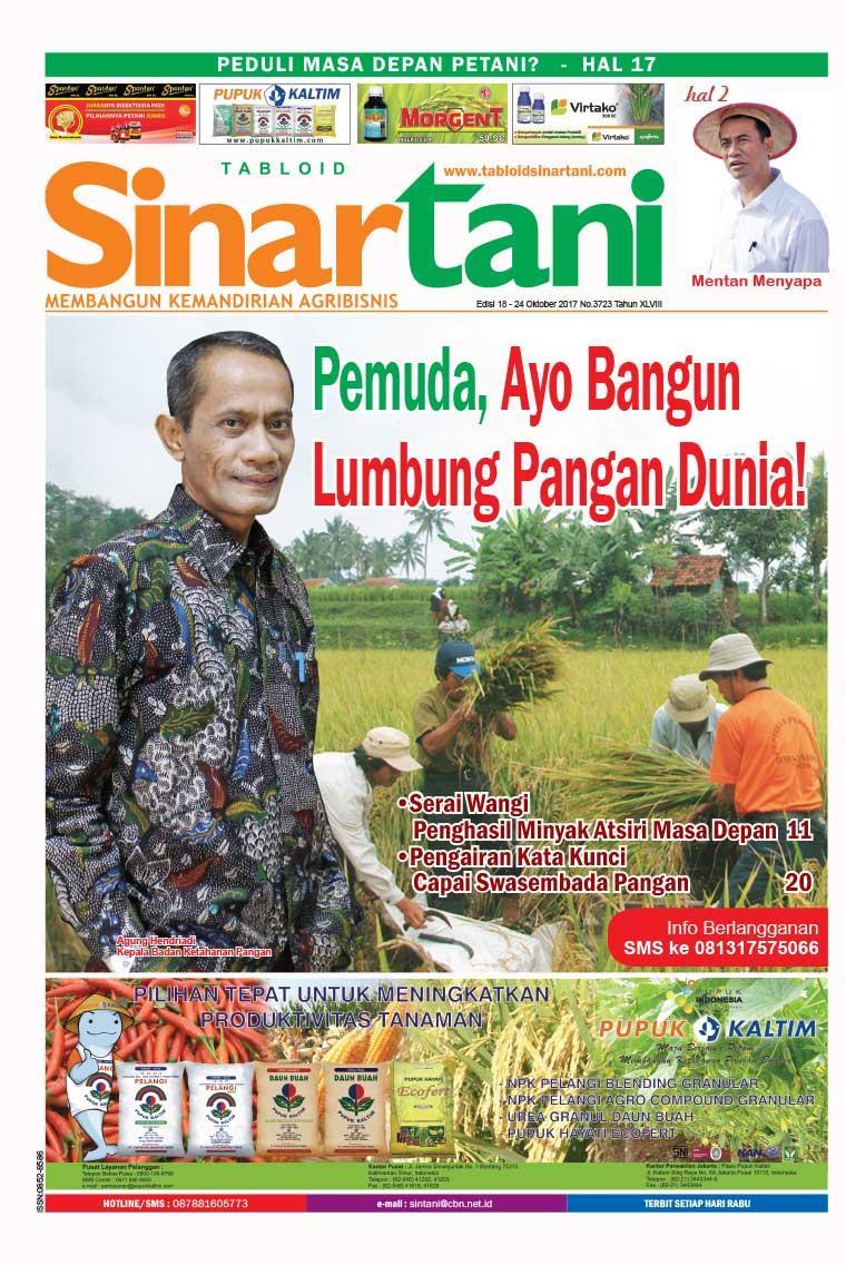 Majalah Digital Sinar tani ED 3723 Oktober 2017