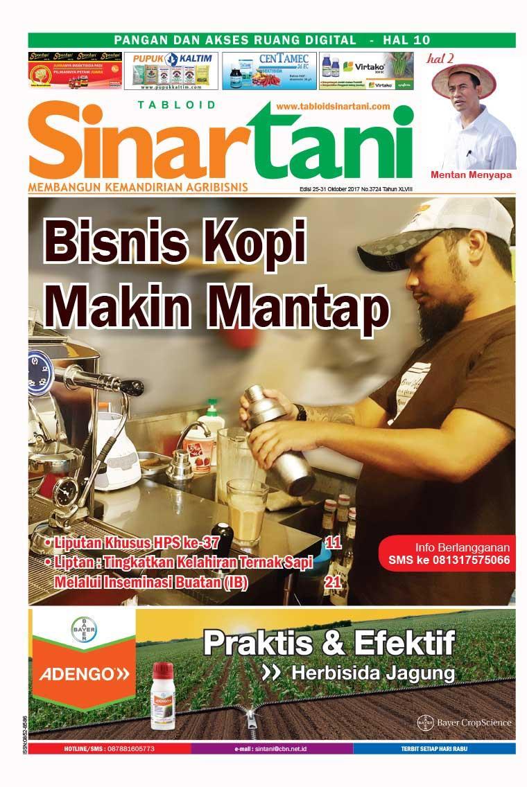 Majalah Digital Sinar tani ED 3724 Oktober 2017