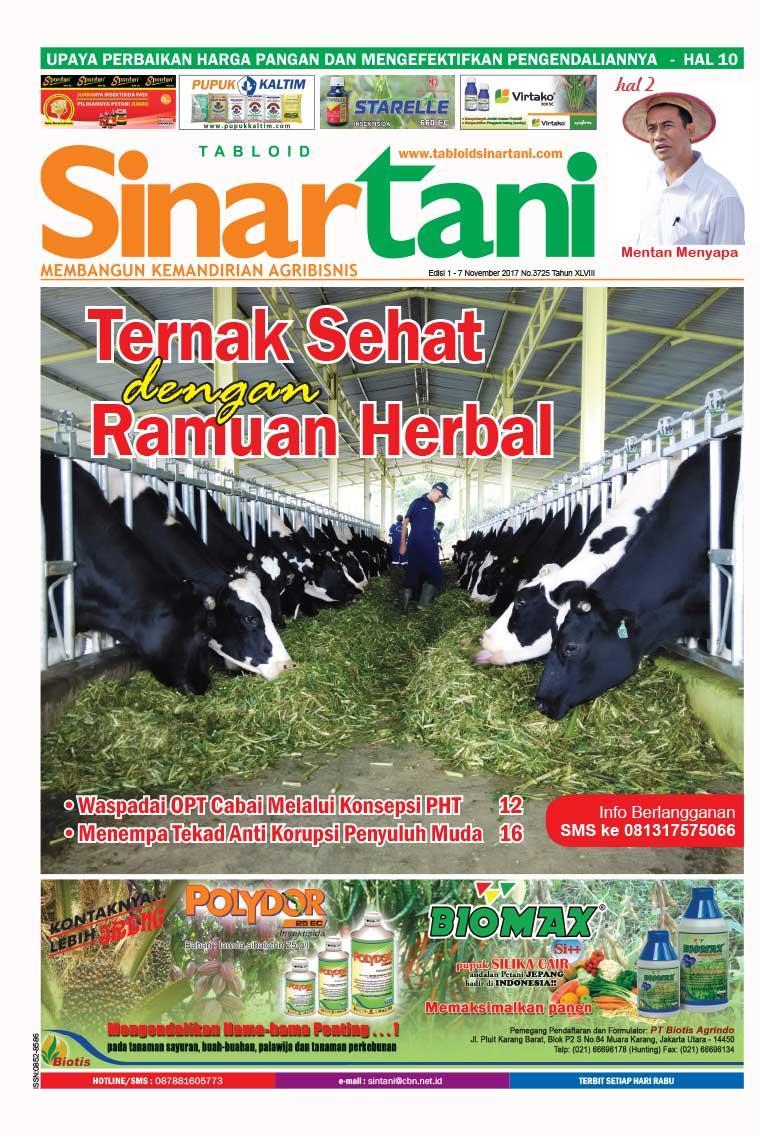 Majalah Digital Sinar tani ED 3725 Oktober 2017