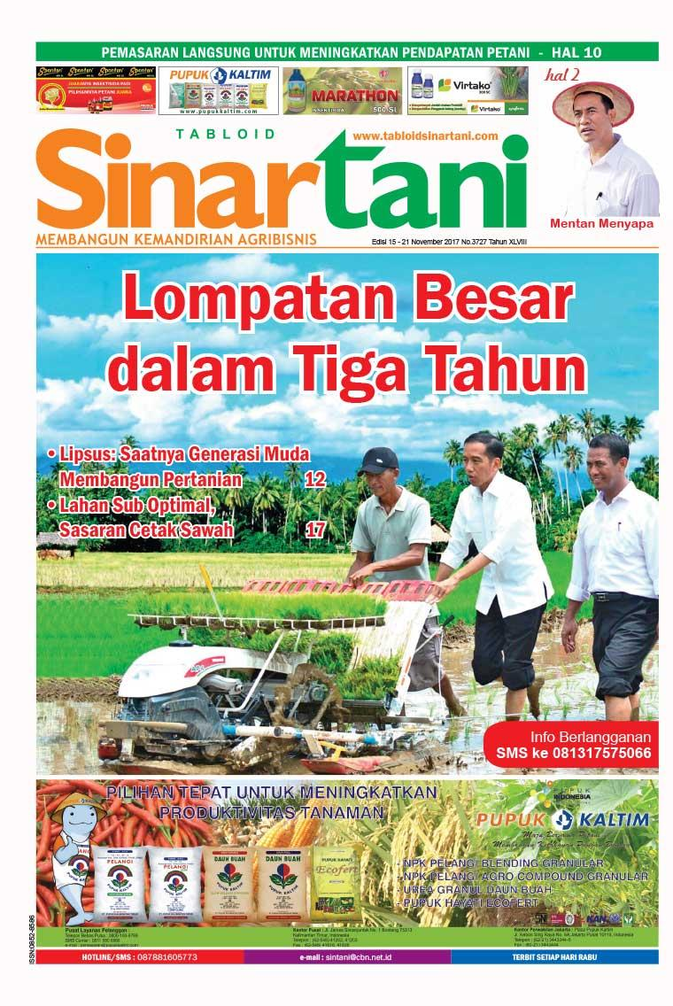 Majalah Digital Sinar tani ED 3727 November 2017