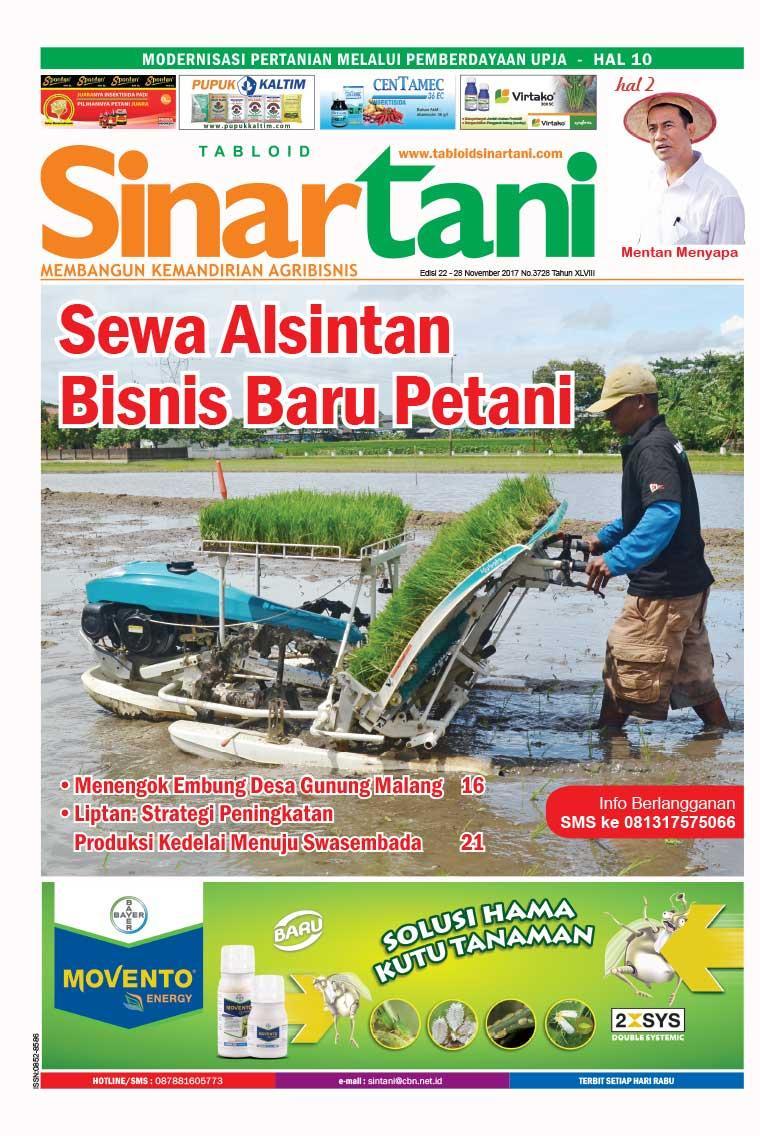 Majalah Digital Sinar tani ED 3728 November 2017