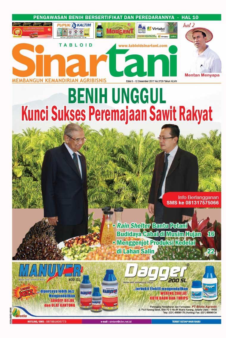 Majalah Digital Sinar tani ED 3729 Desember 2017