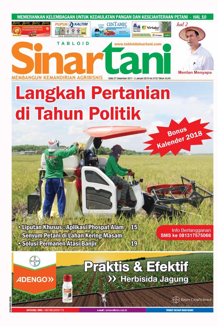 Majalah Digital Sinar tani ED 3732 Desember 2017