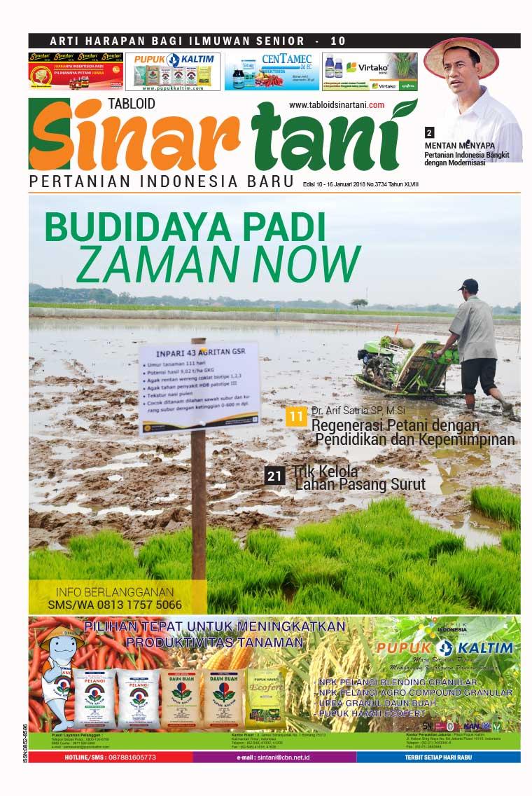 Majalah Digital Sinar tani ED 3734 Januari 2018