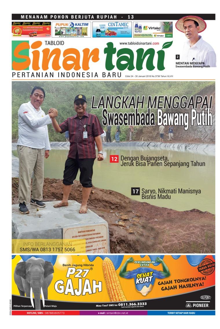 Majalah Digital Sinar tani ED 3736 Januari 2018