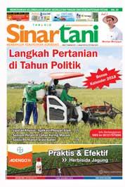 Cover Majalah Sinar tani ED 3732 Desember 2017