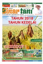Cover Majalah Sinar tani ED 3733 Januari 2018