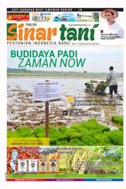 Cover Majalah Sinar tani ED 3734 Januari 2018
