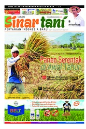 Sinar tani Magazine Cover ED 3735 January 2018