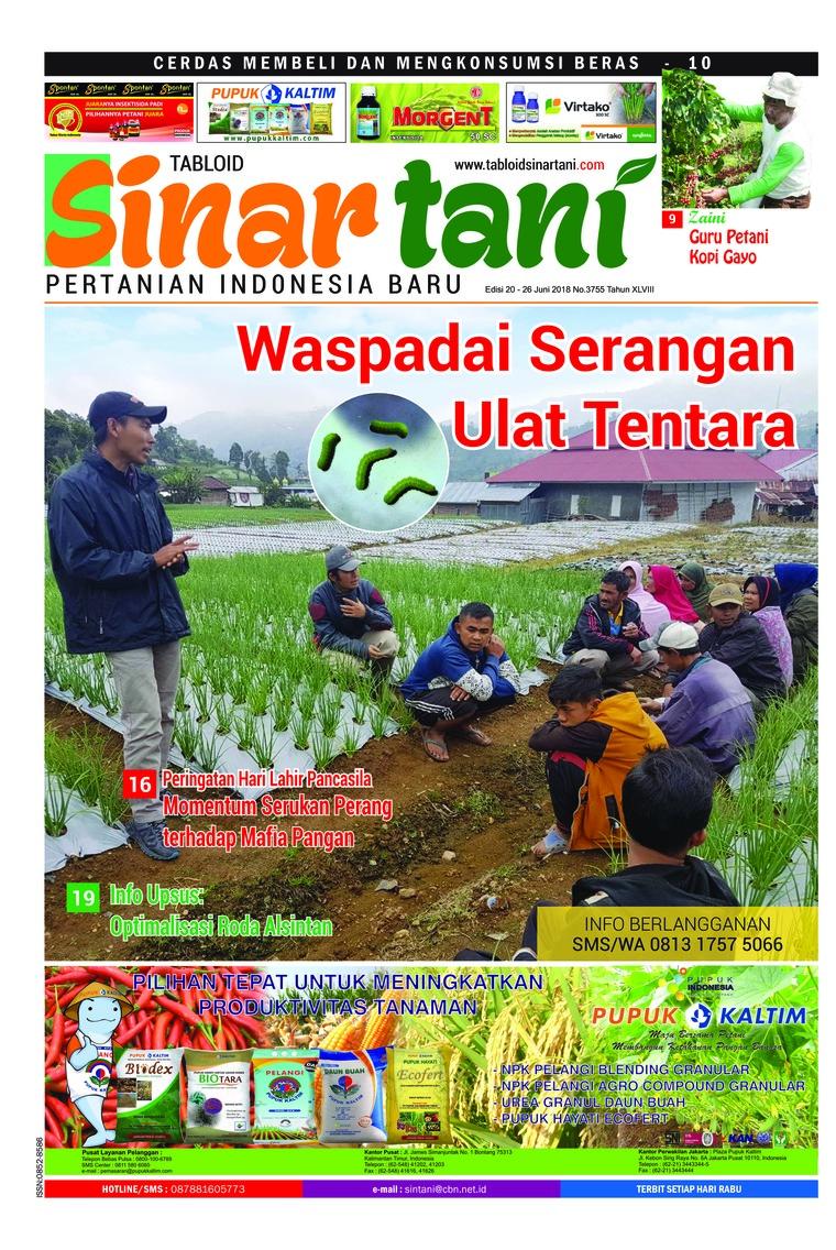 Majalah Digital Sinar tani ED 3755 Juni 2018