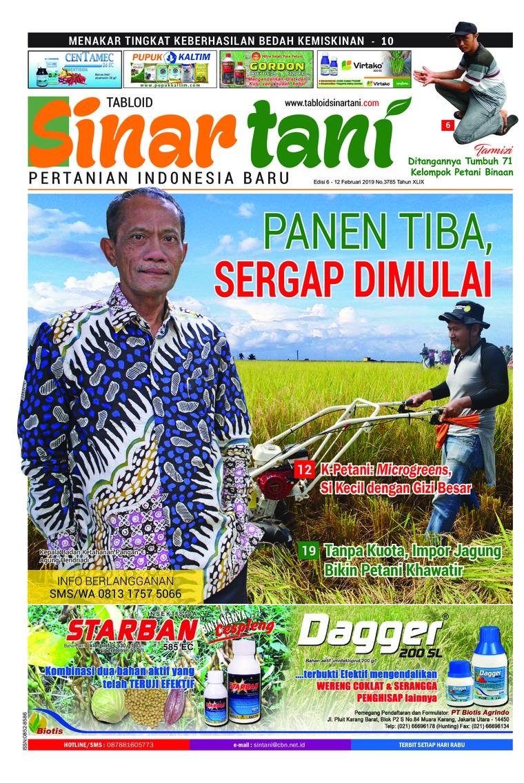 Majalah Digital Sinar tani ED 3785 Februari 2019
