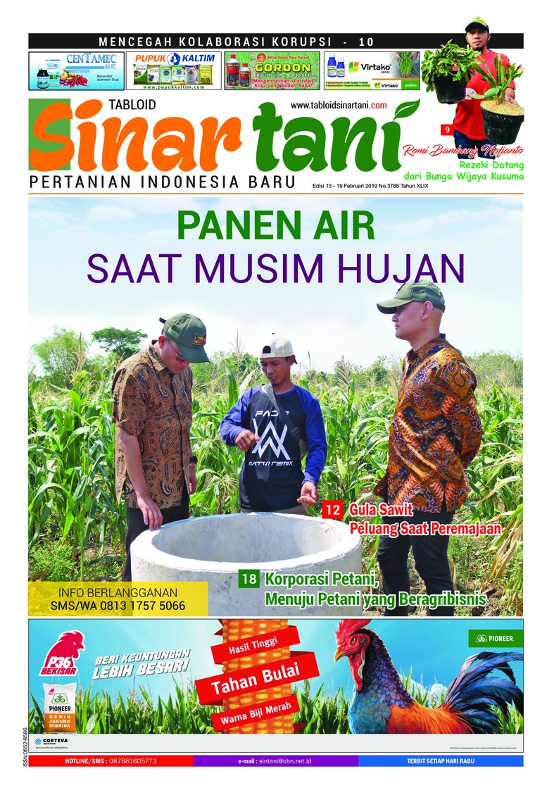 Sinar tani Digital Magazine ED 3786 February 2019