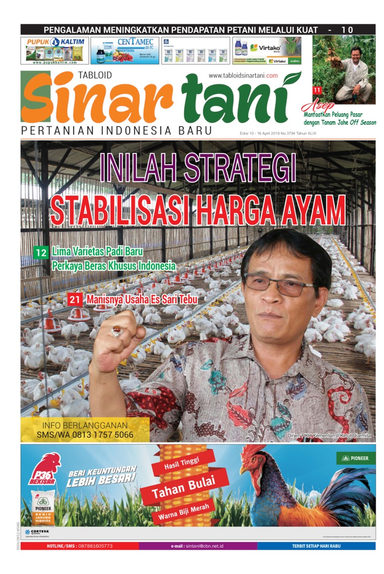 Sinar tani Digital Magazine ED 3794 April 2019