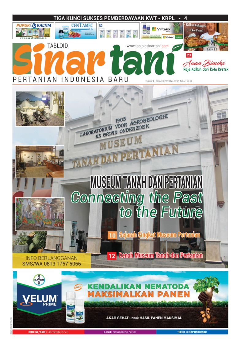 Majalah Digital Sinar tani ED 3796 April 2019