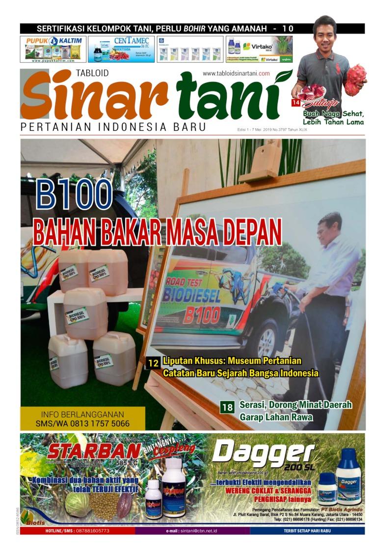 Sinar tani Digital Magazine ED 3797 April 2019