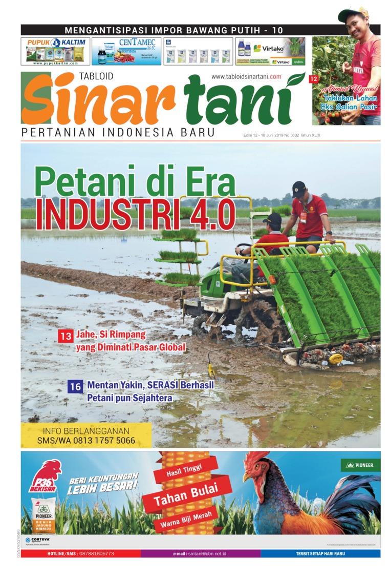 Majalah Digital Sinar tani ED 3802 Juni 2019