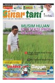 Cover Majalah Sinar tani ED 3737 Februari 2018