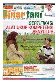Cover Majalah Sinar tani ED 3738 Februari 2018