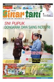 Cover Majalah Sinar tani ED 3740 Februari 2018