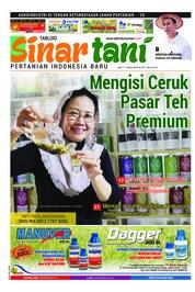 Cover Majalah Sinar tani ED 3741 Maret 2018