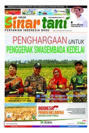 Cover Majalah Sinar tani ED 3742 Maret 2018