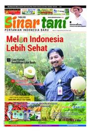Cover Majalah Sinar tani ED 3743 Maret 2018