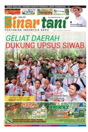 Cover Majalah Sinar tani ED 3745 April 2018