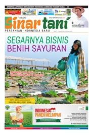Cover Majalah Sinar tani ED 3746 April 2018
