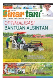 Cover Majalah Sinar tani ED 3747 April 2018