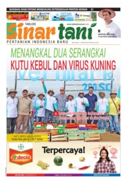 Cover Majalah Sinar tani ED 3748 April 2018