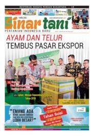 Cover Majalah Sinar tani ED 3750 Mei 2018