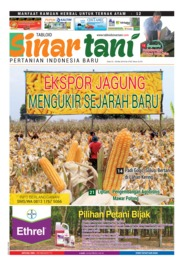 Sinar tani Magazine Cover ED 3752 May 2018