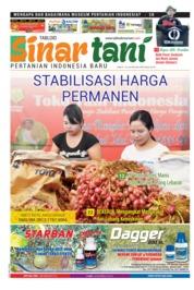 Cover Majalah Sinar tani ED 3753 Mei 2018