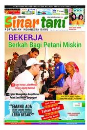 Cover Majalah Sinar tani ED 3754 Juni 2018