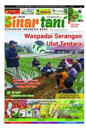 Cover Majalah Sinar tani ED 3755 Juni 2018