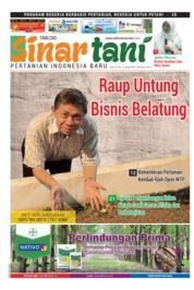 Cover Majalah Sinar tani ED 3756 Juni 2018