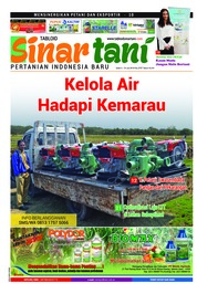 Cover Majalah Sinar tani ED 3757 Juli 2018