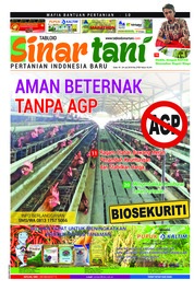 Sinar tani Magazine Cover ED 3759 July 2018