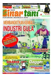 Cover Majalah Sinar tani ED 3761 Juli 2018