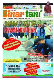 Cover Majalah Sinar tani ED 3762 Agustus 2018