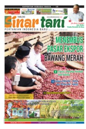 Sinar tani Magazine Cover ED 3763 August 2018