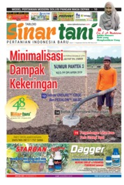 Cover Majalah Sinar tani ED 3765 September 2018