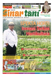 Cover Majalah Sinar tani ED 3767 September 2018
